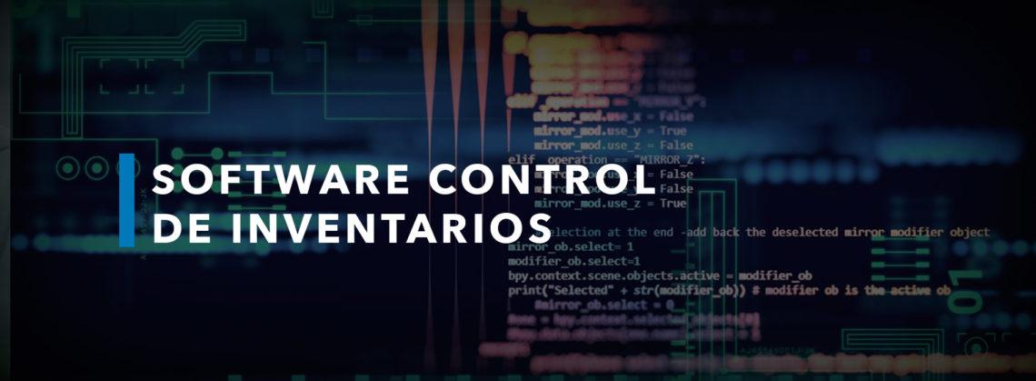 software control de inventarios