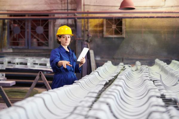 planeación y control de la producción mujer